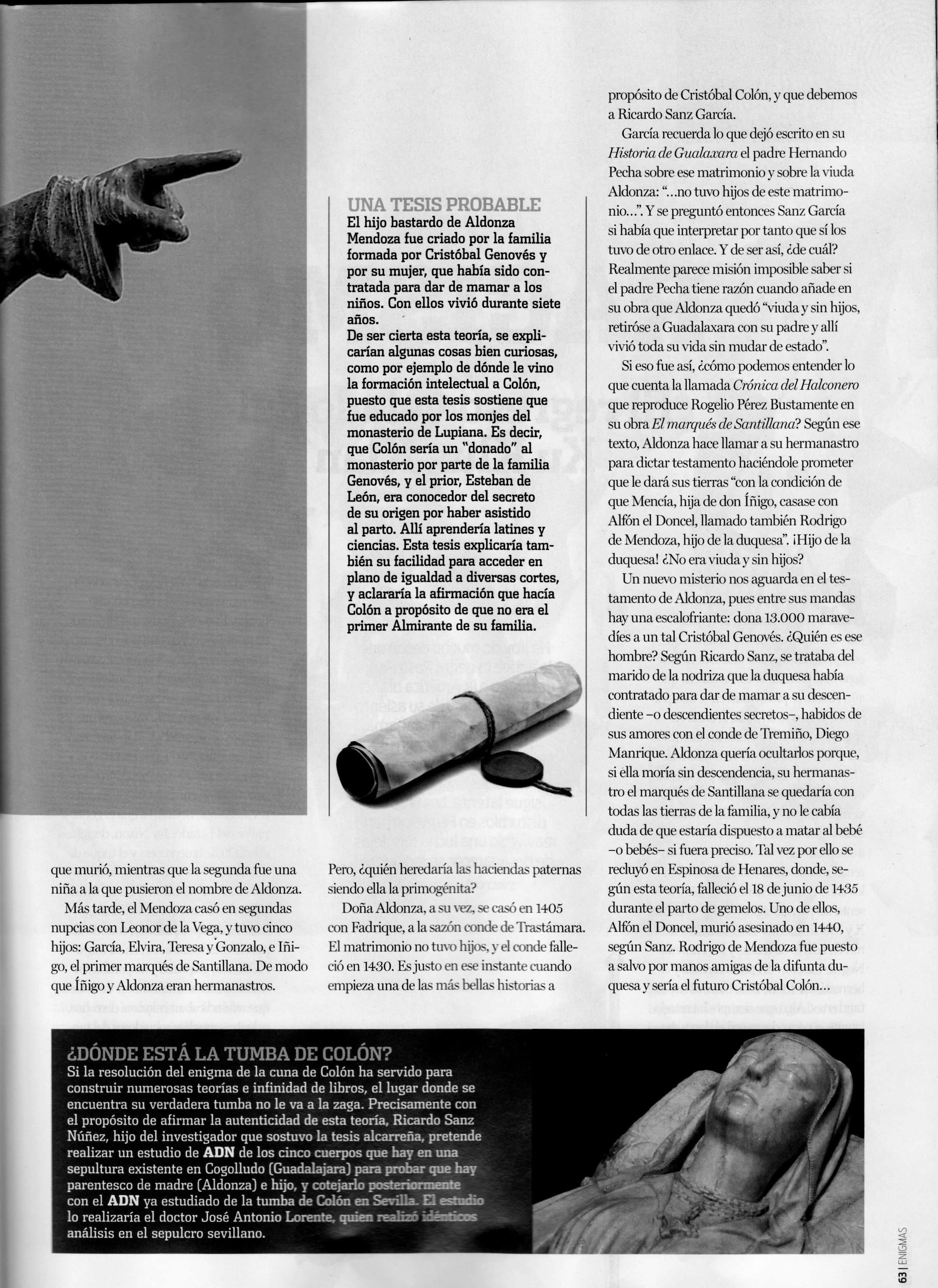 Revista Enigmas. Octubre 2014 pág 62-63 (2)