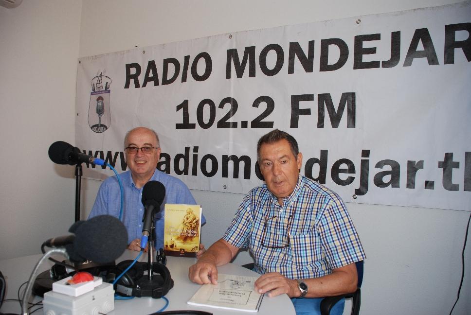 Entrevista previa a la presentación del libro en Mondéjar el día 18.07.2015