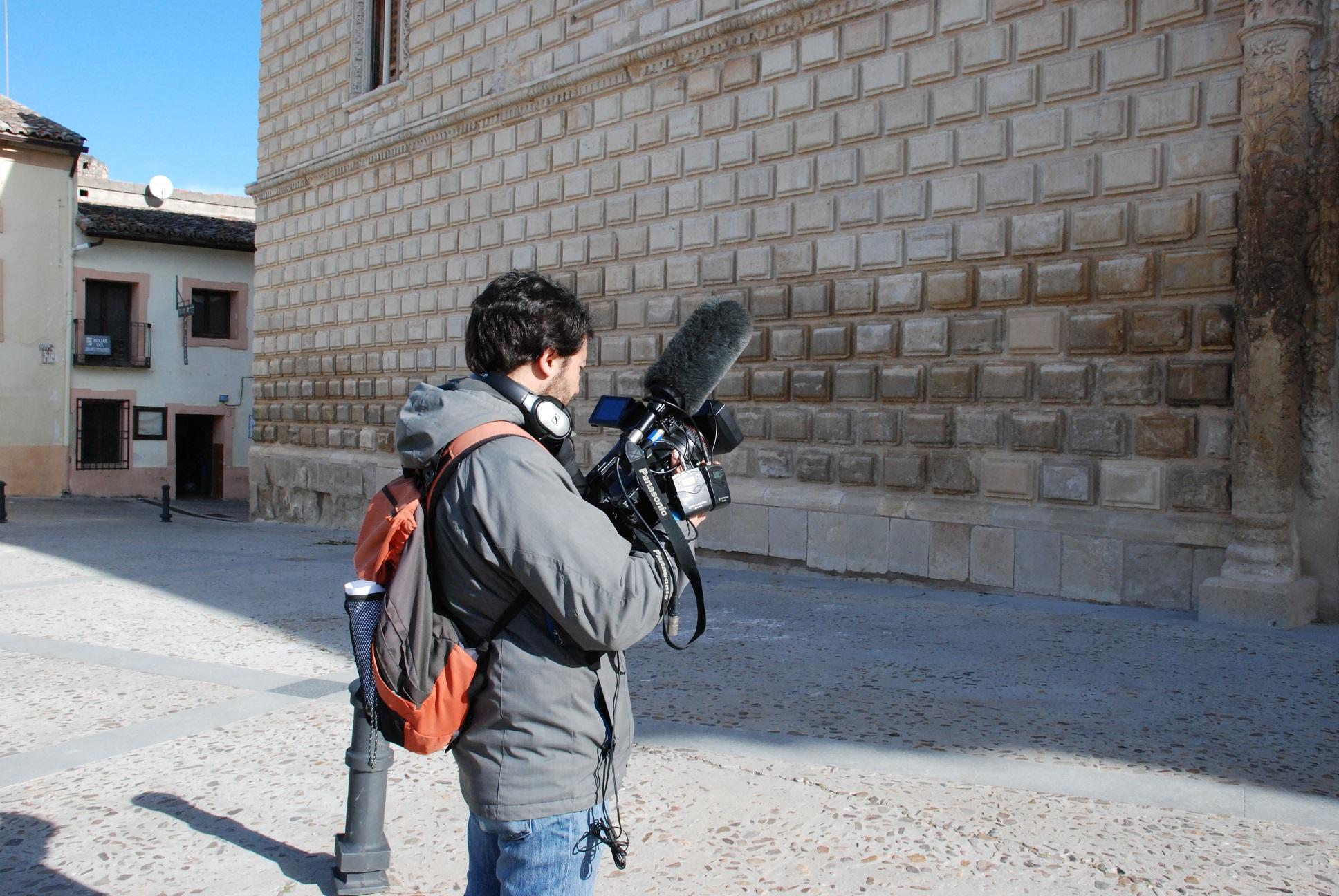 Toma de imágenes para TV Castilla-La Mancha(28)