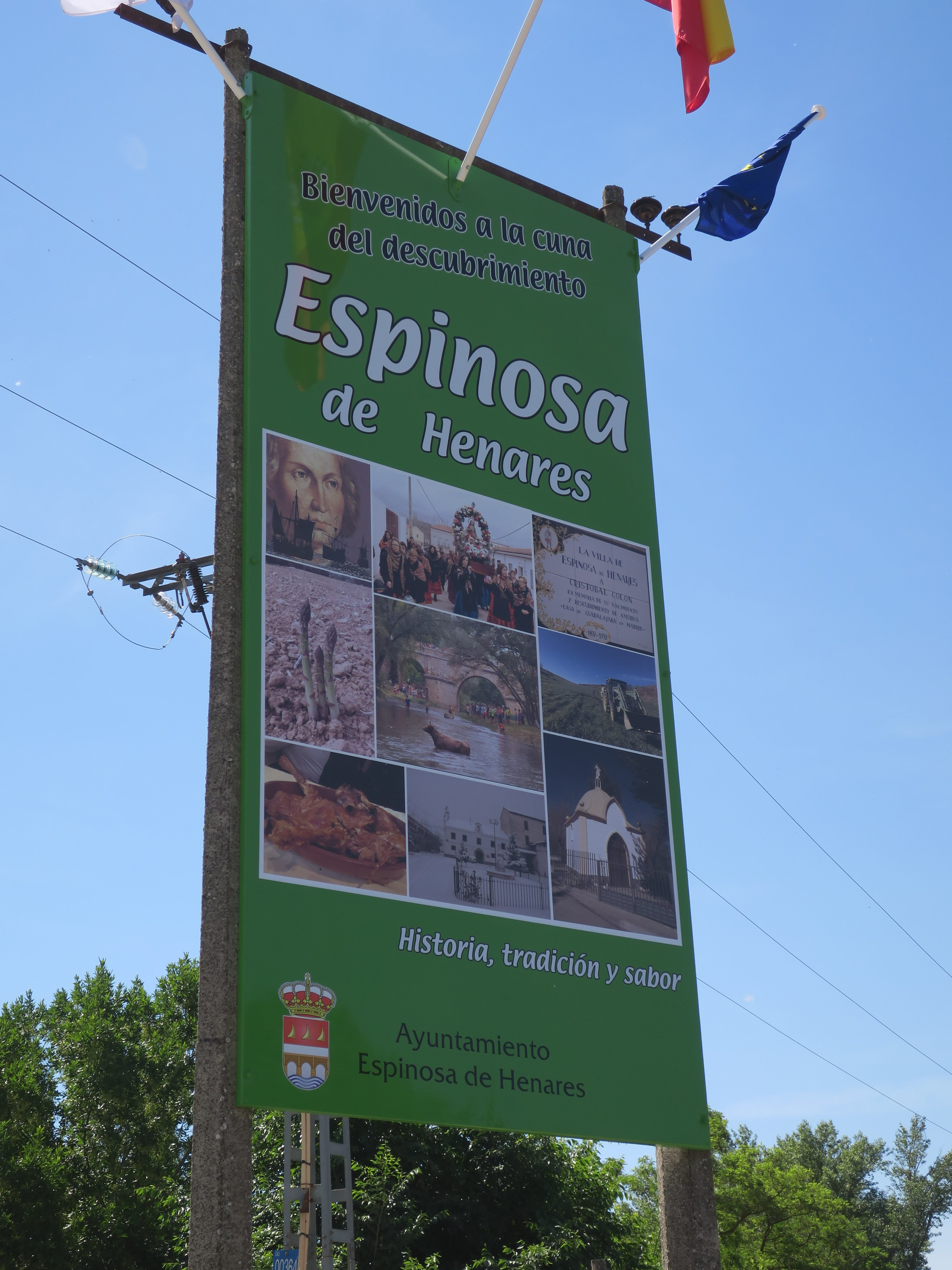 Espinosa de Henares10.06 (44) Cartel de Bienvenida